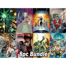 DC COMICS #1'S FROM SEP PREVIEWS 8PC BUNDLE