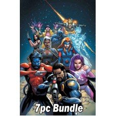 UNCANNY X-MEN #1 REG & VARIANT 7PC BUNDLE