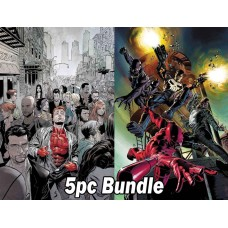 MARVEL KNIGHTS #1 AND #2 REG & VARIANT 5PC BUNDLE