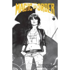 MAGIC ORDER #6 (OF 6) CVR B B&W COIPEL (MR)