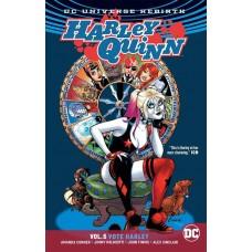 HARLEY QUINN TP VOL 05 VOTE HARLEY REBIRTH