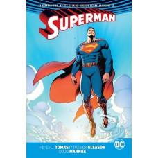 SUPERMAN REBIRTH DLX COLL HC BOOK 02