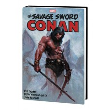 SAVAGE SWORD CONAN HC ORIGINAL MARVEL YEARS OMNIBUS VOL 01 V