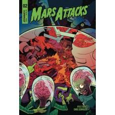 MARS ATTACKS #2 CVR A HENDERSON