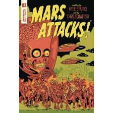 MARS ATTACKS #2 CVR E SCHWEIZER SUB VARIANT