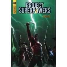 PROJECT SUPERPOWERS #4 CVR A MATTINA