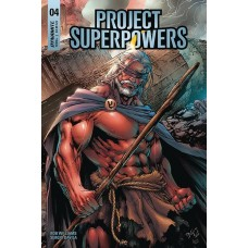 PROJECT SUPERPOWERS #4 CVR B BENES