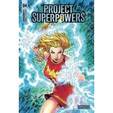 PROJECT SUPERPOWERS #4 CVR C ROYLE