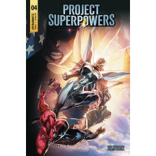 PROJECT SUPERPOWERS #4 CVR D TAN