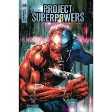 PROJECT SUPERPOWERS #4 CVR E SEGOVIA