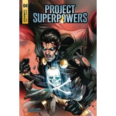 PROJECT SUPERPOWERS #4 CVR F DAVILA