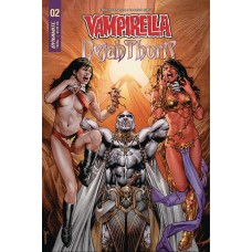 VAMPIRELLA DEJAH THORIS #3 CVR A ANACLETO