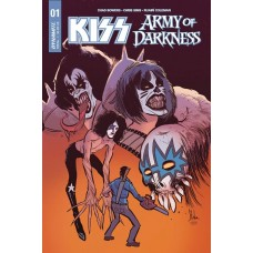 KISS AOD #1 (OF 5) GENE SIMMONS SGN