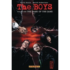 BOYS TP VOL 01 NAME OF THE GAME ROBERTSON SGN ED (MR)