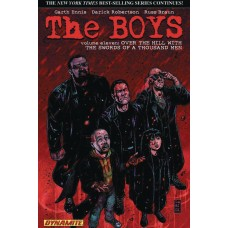 BOYS TP VOL 11 OVER THE HILL ROBERTSON SGN ED (MR)