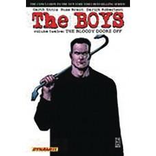 BOYS TP VOL 12 BLOODY DOORS OFF ROBERTSON SGN ED (MR)