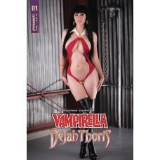 VAMPIRELLA DEJAH THORIS #1 SGN VAMPIRELLA COSPLAY CVR