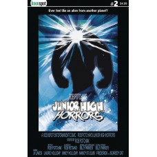 JUNIOR HIGH HORRORS #2 CVR B THE THING PARODY