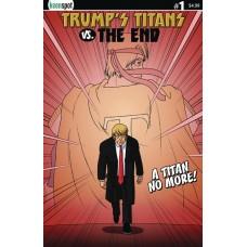 TRUMPS TITANS VS THE END #1 CVR A NO MORE