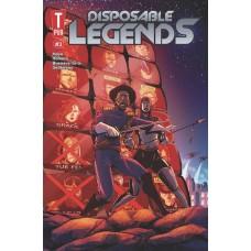 DISPOSABLE LEGENDS #3 (OF 6) (MR)