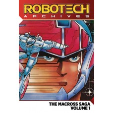 ROBOTECH ARCHIVES MACROSS SAGA TP VOL 01 (OF 3)