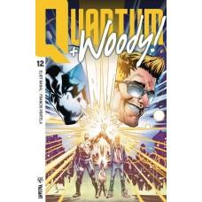 QUANTUM & WOODY (2017) #12 CVR B ULTRA FOIL SHAW
