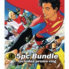 LEGION OF SUPER HEROES #1 REG VARIANTS & RING @A