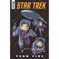 STAR TREK YEAR FIVE #8 CVR A THOMPSON