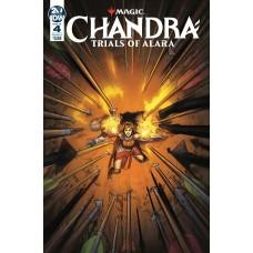 MAGIC THE GATHERING CHANDRA TRIALS OF ALARA #4 (OF 4) CVR A