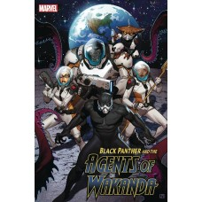 BLACK PANTHER AND AGENTS OF WAKANDA #3 @D