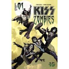 KISS ZOMIBES #1 CVR A SUYDAM @T