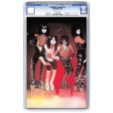 KISS ZOMIBES #1 PHOTO CGC GRADED @D