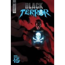 BLACK TERROR #2 CVR A RAHZZAH @D