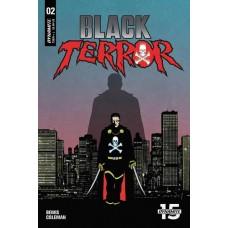 BLACK TERROR #2 CVR B FORNES @D