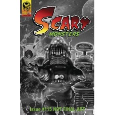 SCARY MONSTERS MAGAZINE #115 @F