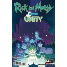 RICK AND MORTY PRESENTS UNITY #1 CVR A CANNON (MR) @D