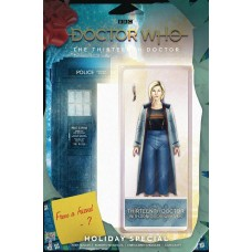 DOCTOR WHO 13TH HOLIDAY SPECIAL #1 CVR C ACTION FIGURE @U