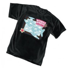 WONDER WOMAN INVISIBLE JET T/S XL @U