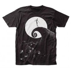 DISNEY NIGHTMARE BEFORE CHRISTMAS POSTER T/S XL @U