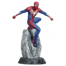 MARVEL GALLERY SPIDER-MAN PS4 PVC FIGURE @F