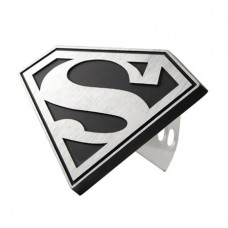 DC HEROES SUPERMAN GRAY LOGO HITCH PLUG @F