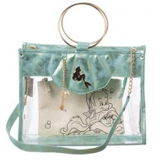 THE LITTLE MERMAID CLEAR TOTE W/ REMOVEABLE POUCH @U