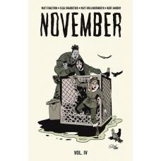 NOVEMBER HC VOL 04 (MR)