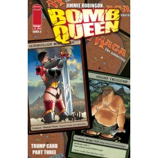 BOMB QUEEN TRUMP CARD #3 (OF 4) CVR B ROBINSON (MR)