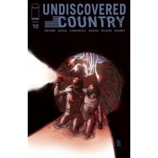 UNDISCOVERED COUNTRY #10 CVR A CAMUNCOLI (MR)