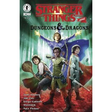 STRANGER THINGS D&D CROSSOVER #1 CVR C GALINDO