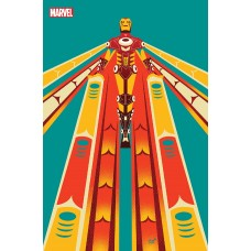 IRON MAN #3 NATIVE AMERICAN HERITAGE TRIBUTE VEREGGE IRON MAN VAR