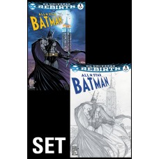 ALL STAR BATMAN #1 ASPEN B&W VAR SET