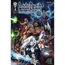 LADY DEATH BLASPHEMY ANTHEM #1 (OF 2) STANDARD CVR (MR)