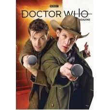 DOCTOR WHO MAGAZINE #556 (C: 0-1-1)